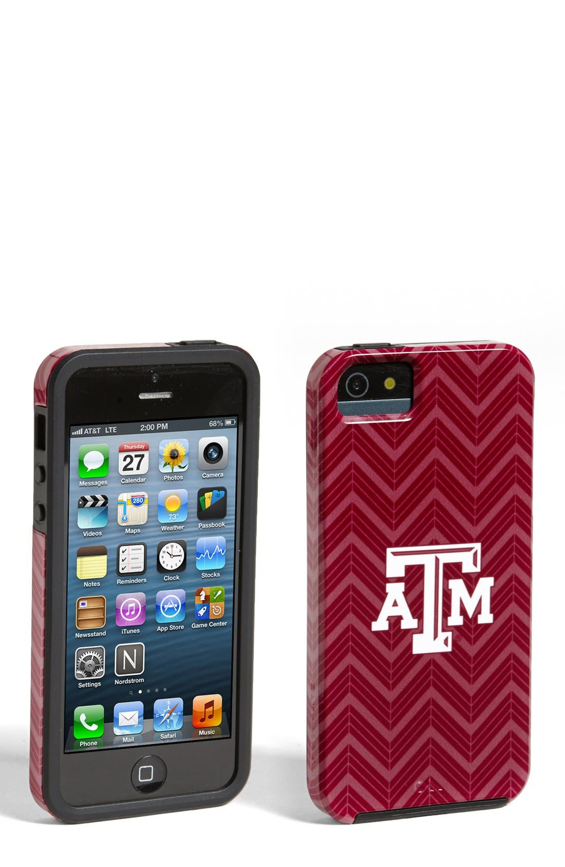 Alternate Image 1 Selected - Case-Mate® 'Texas A&M' iPhone 5 & 5s Case