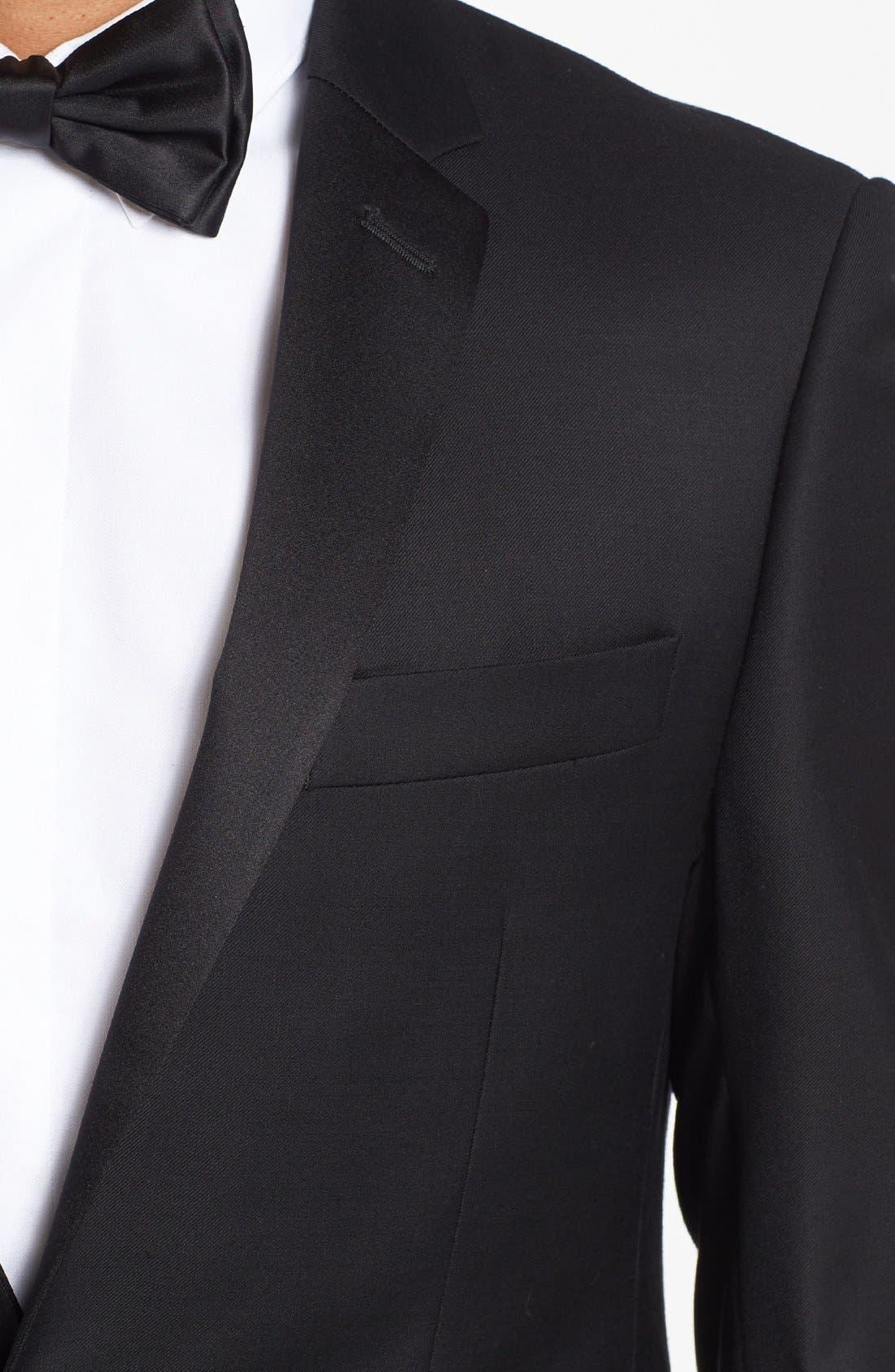 Alternate Image 6  - Michael Kors Trim Fit Wool Tuxedo