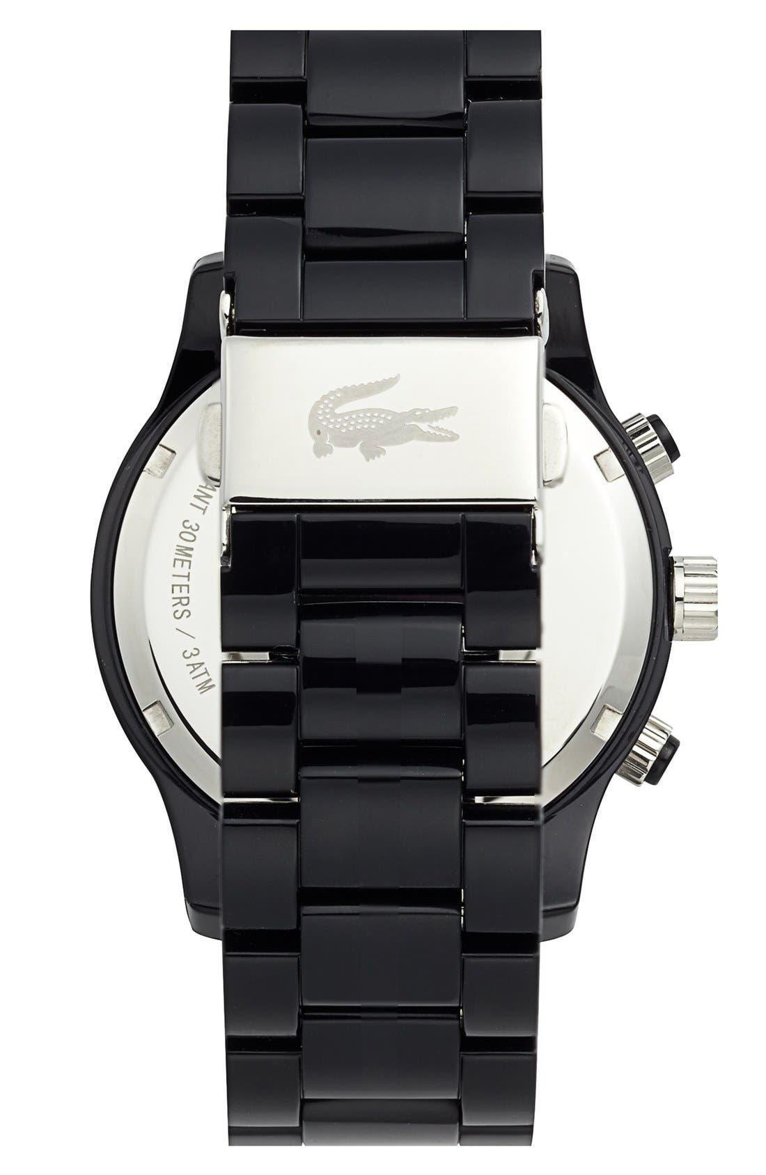 Alternate Image 2  - Lacoste Chronograph Bracelet Watch, 40mm
