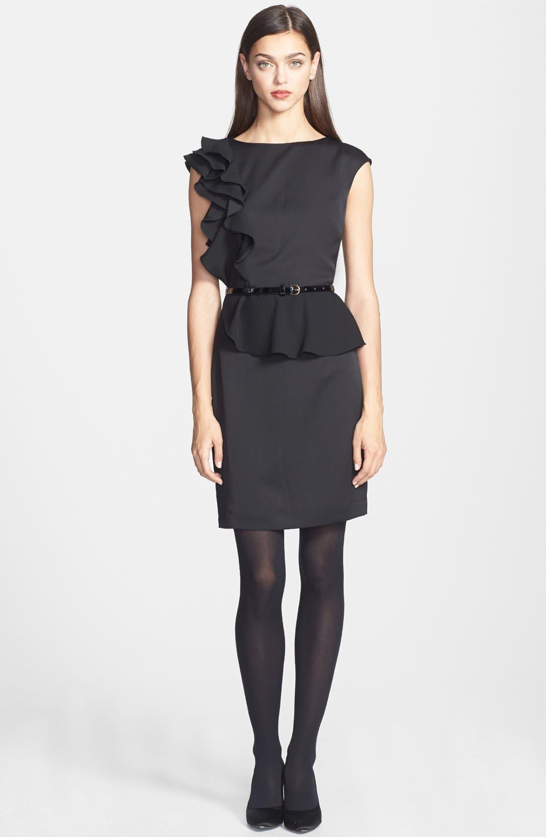 Alternate Image 1 Selected - Ted Baker London 'Poielle' Woven Sheath Dress