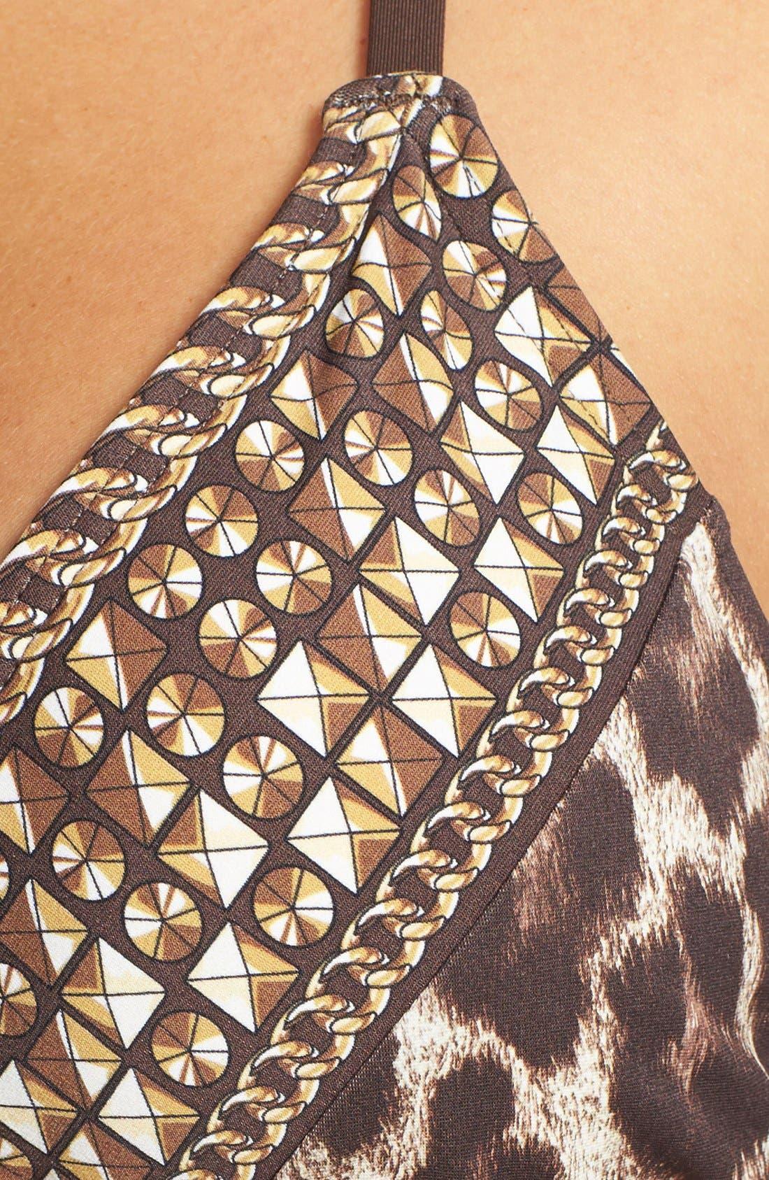 Alternate Image 5  - MICHAEL Michael Kors 'Tunisia Cheetah' Triangle Bikini Top