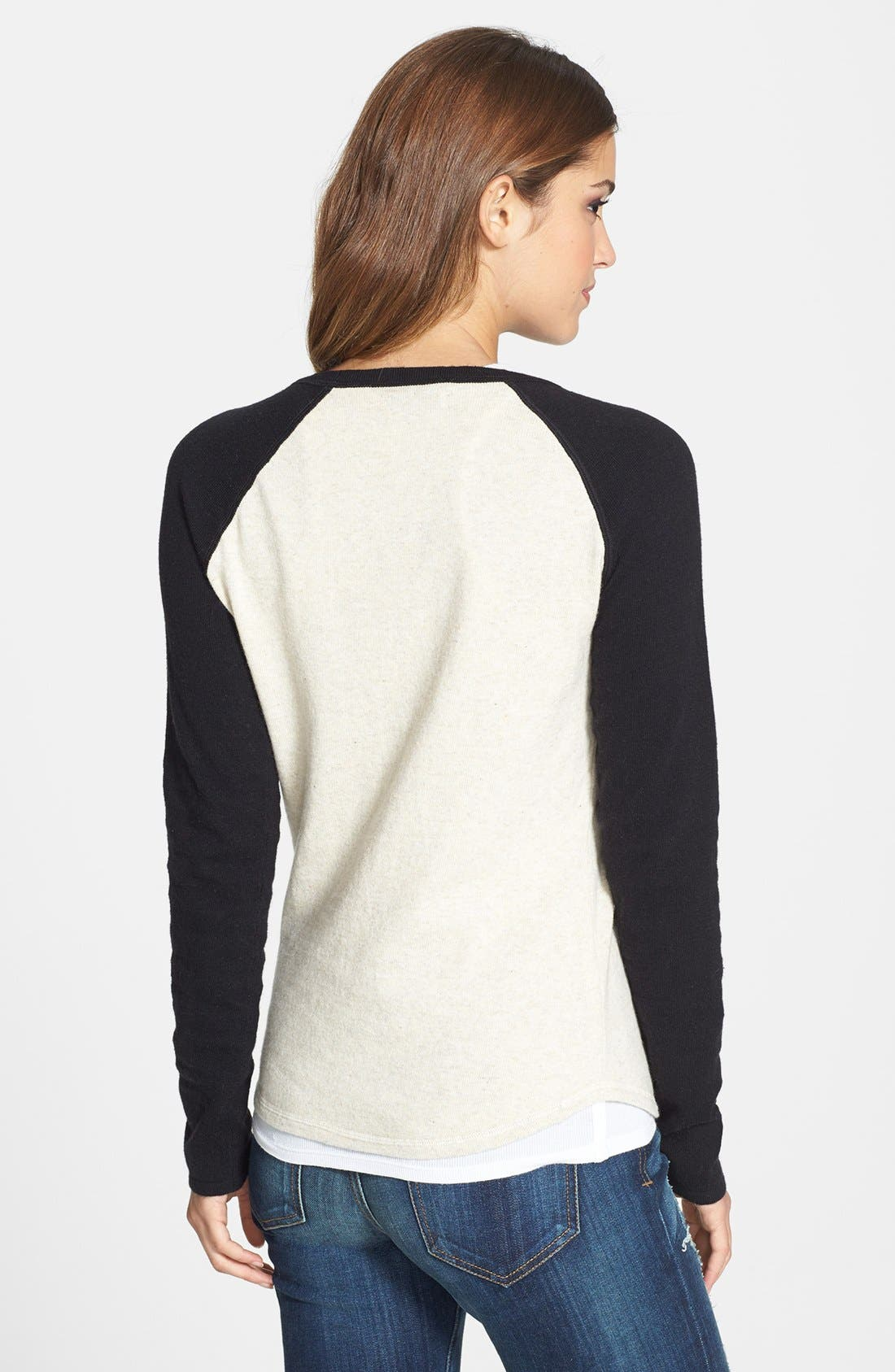 Alternate Image 2  - Lucky Brand Motorcycle Intarsia Knit Sweater