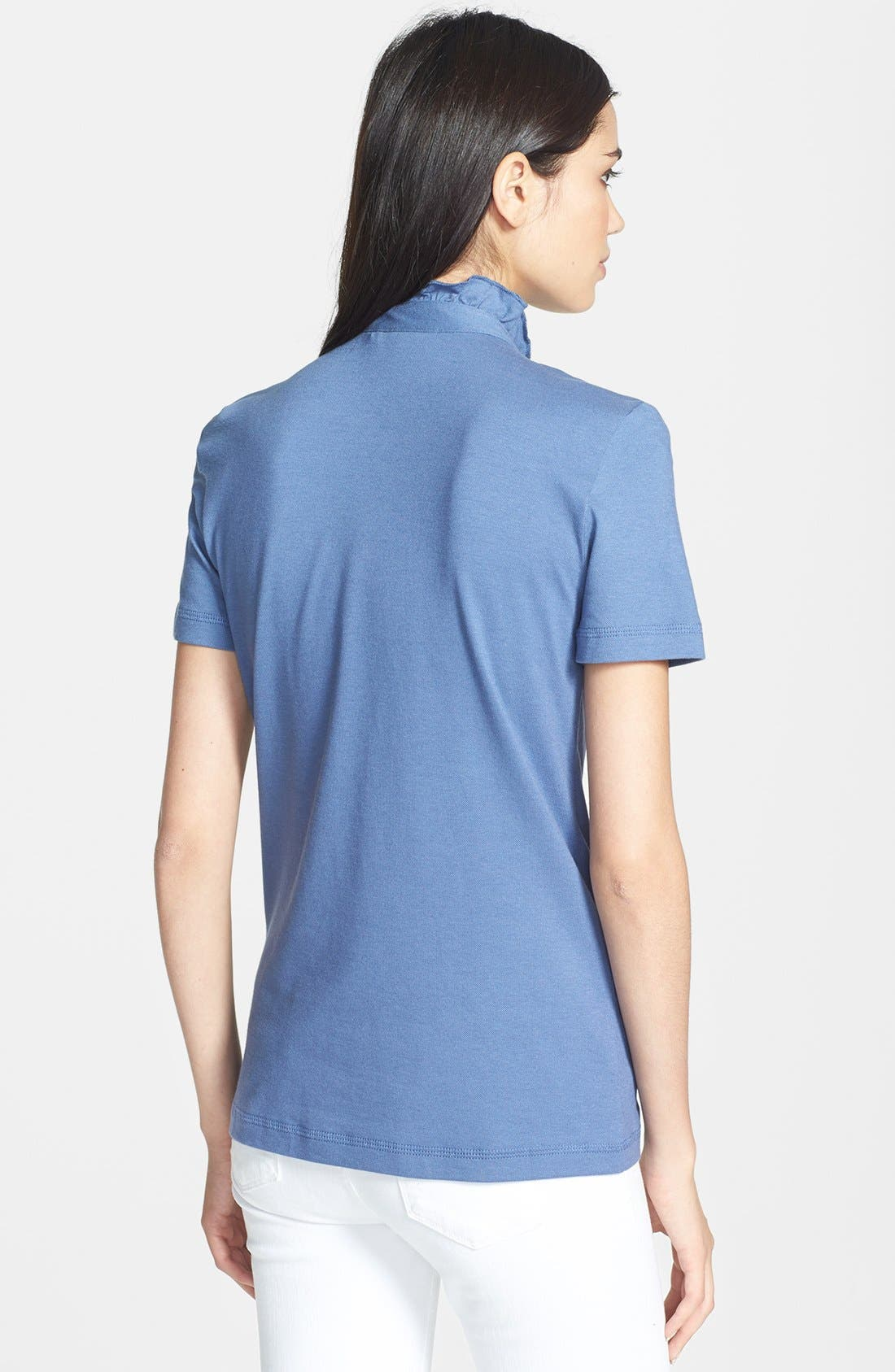Alternate Image 2  - Tory Burch 'Lidia' Short Sleeve Polo