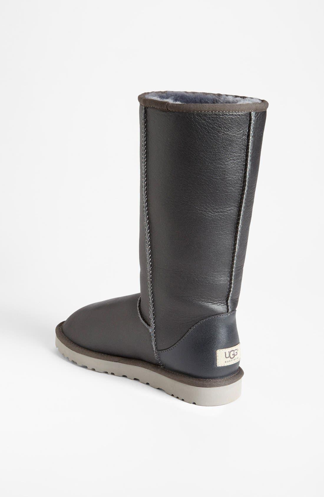 Alternate Image 2  - UGG® Australia 'Classic Tall Metallic' Boot (Women)