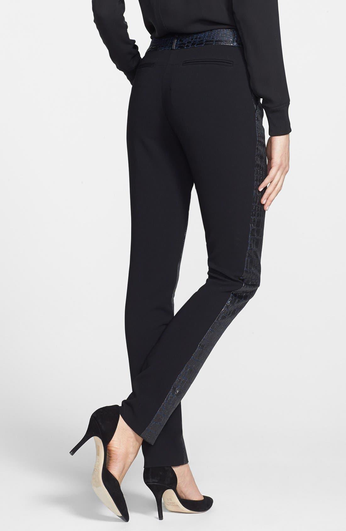 Alternate Image 2  - Diane von Furstenberg 'Mary' Metallic Pants