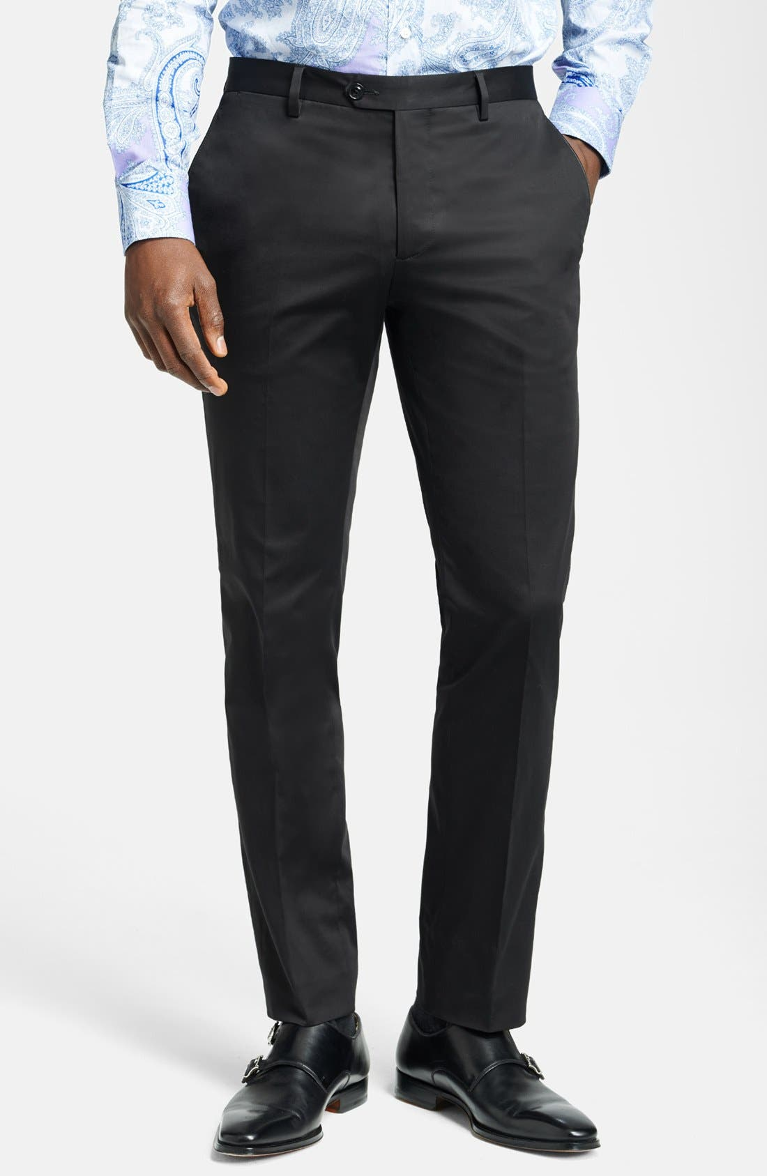 Alternate Image 1 Selected - Etro Pipe Detailed Trouser Pants