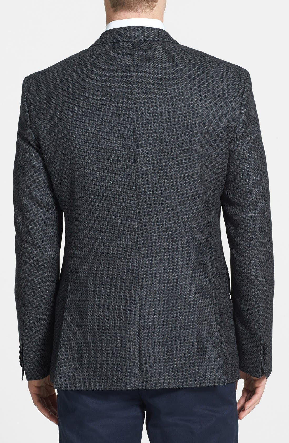 Alternate Image 2  - BOSS HUGO BOSS 'Hutch' Trim Fit Wool Sportcoat