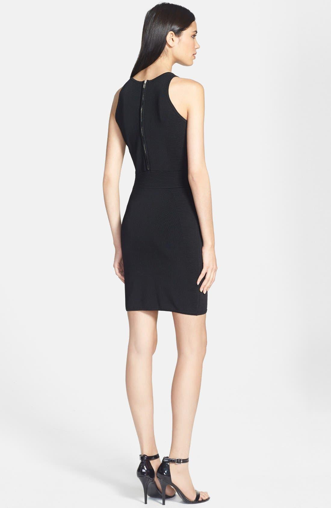 Alternate Image 2  - Milly Stretch Body-Con Dress