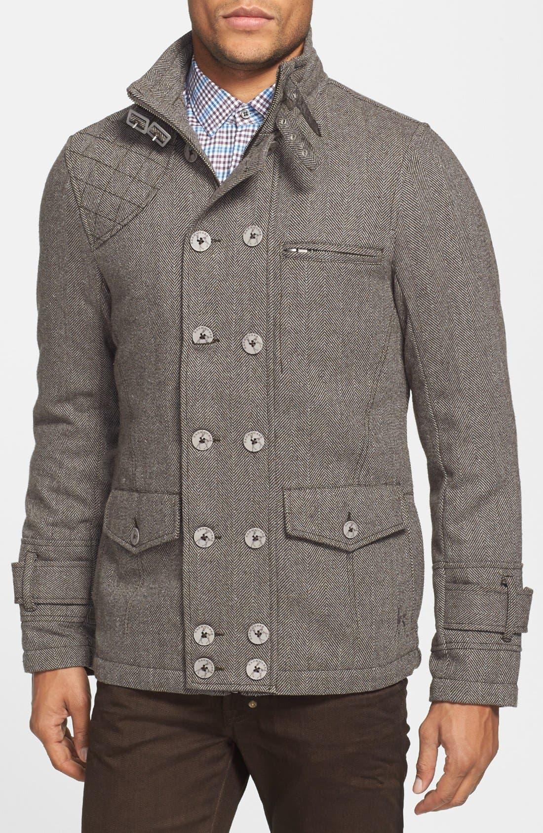 Main Image - Kane & Unke Herringbone Jacket