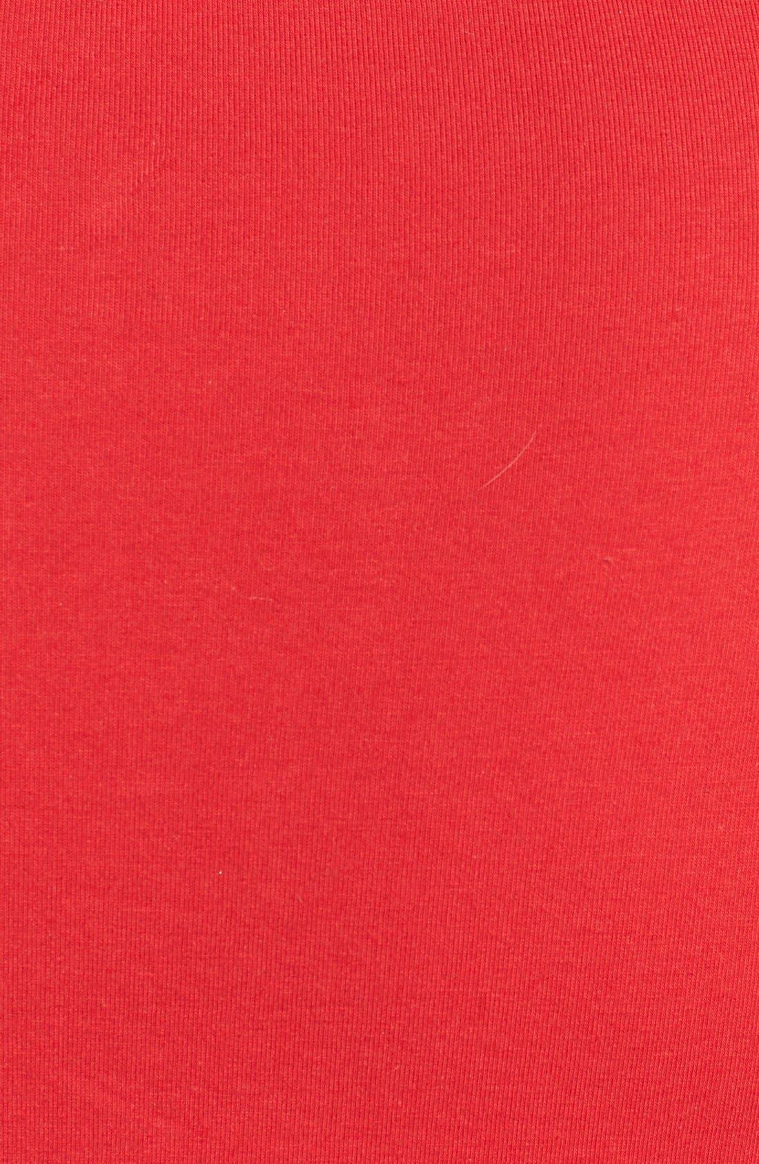 Alternate Image 3  - MICHAEL Michael Kors Zip Shirred Shoulder Top