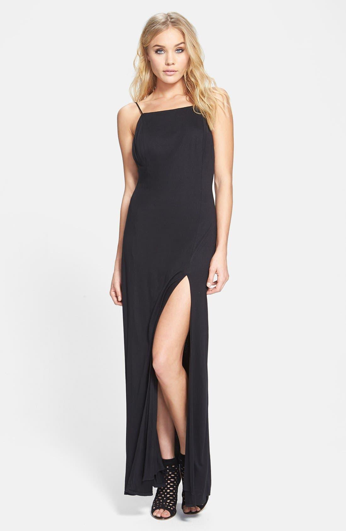 Main Image - June & Hudson Open Back Maxi Dress