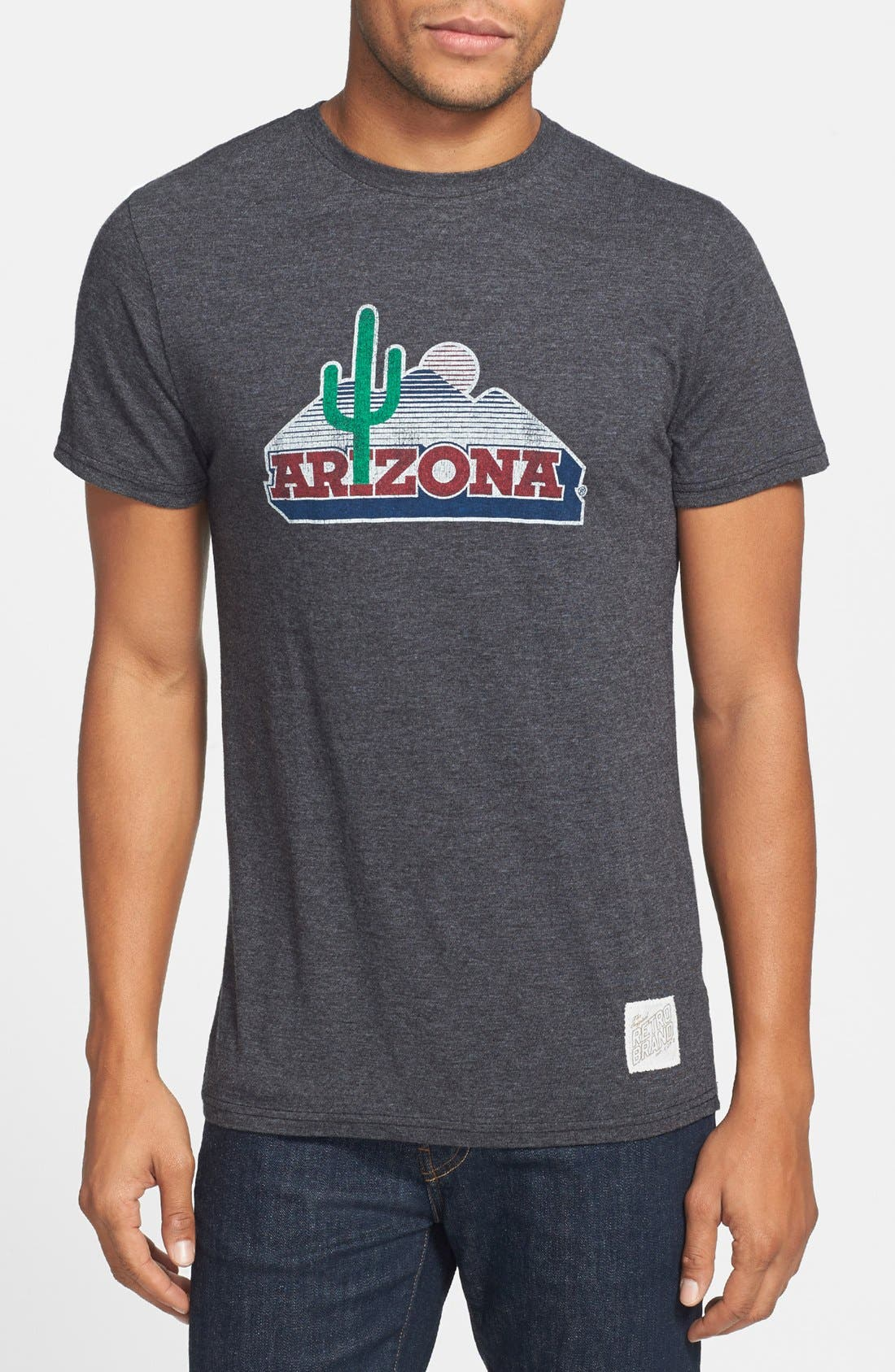 Alternate Image 1 Selected - Retro Brand 'Arizona Wildcats' Team T-Shirt