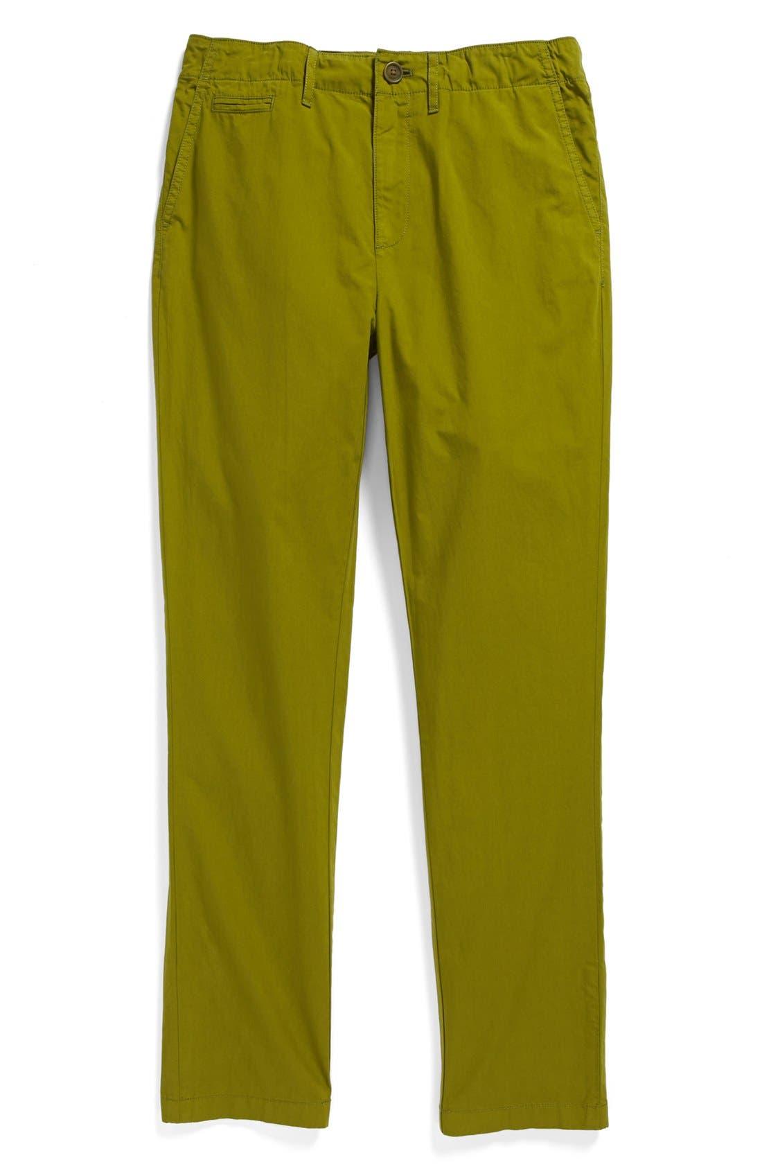 Alternate Image 1 Selected - Burberry Straight Leg Pants (Toddler Boys, Little Boys & Big Boys)