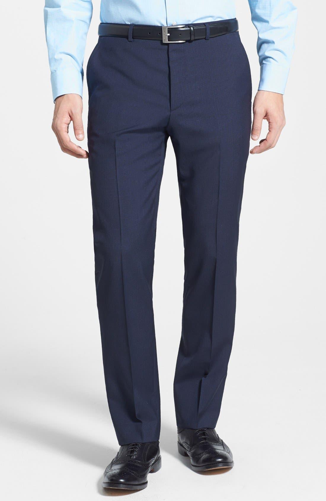 Alternate Image 4  - HUGO 'Astro/Hill' Extra Trim Fit Suit
