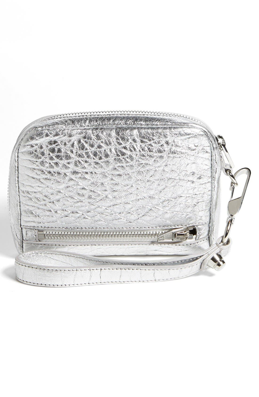 Alternate Image 3  - Alexander Wang 'Fumo - Large' Metallic Leather Wristlet