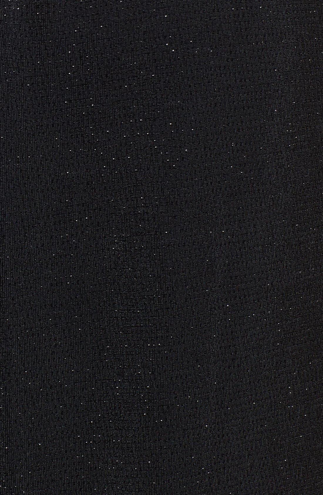 Alternate Image 3  - Bobeau Shimmer Wrap Front Top