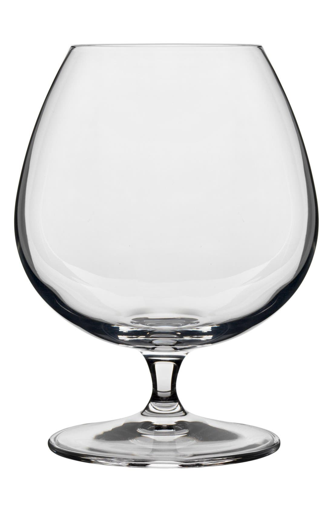 Alternate Image 1 Selected - Luigi Bormioli 'Crescendo' Cognac Glasses (Set of 4)