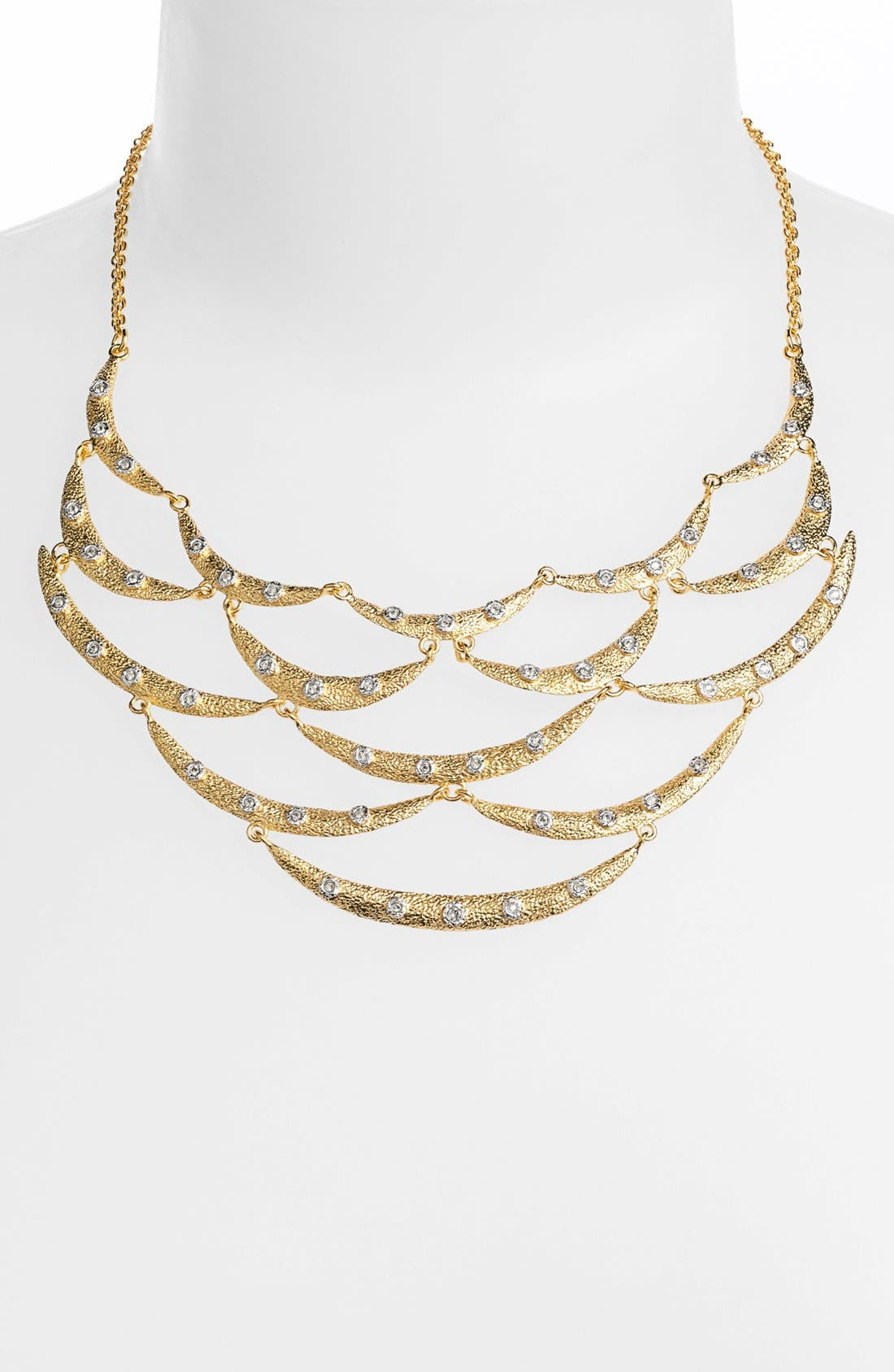 Alternate Image 1 Selected - Alexis Bittar 'Elements' Articulated Bib Necklace