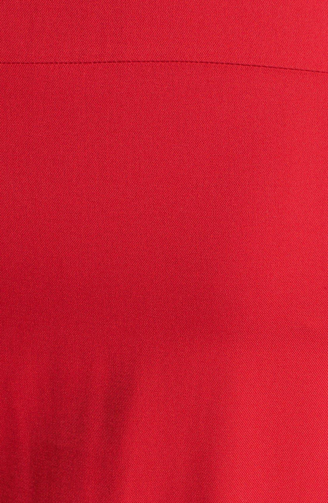 Alternate Image 3  - Evans Twill Pintucked Shirt (Plus Size)