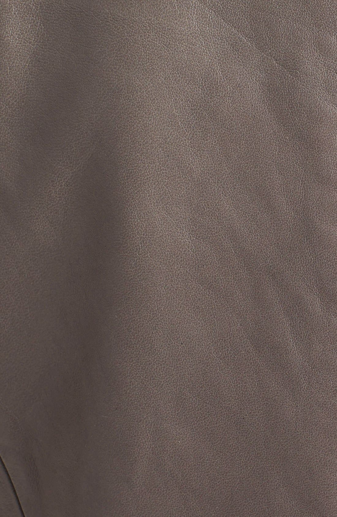 Alternate Image 3  - Trouvé Draped Leather Jacket