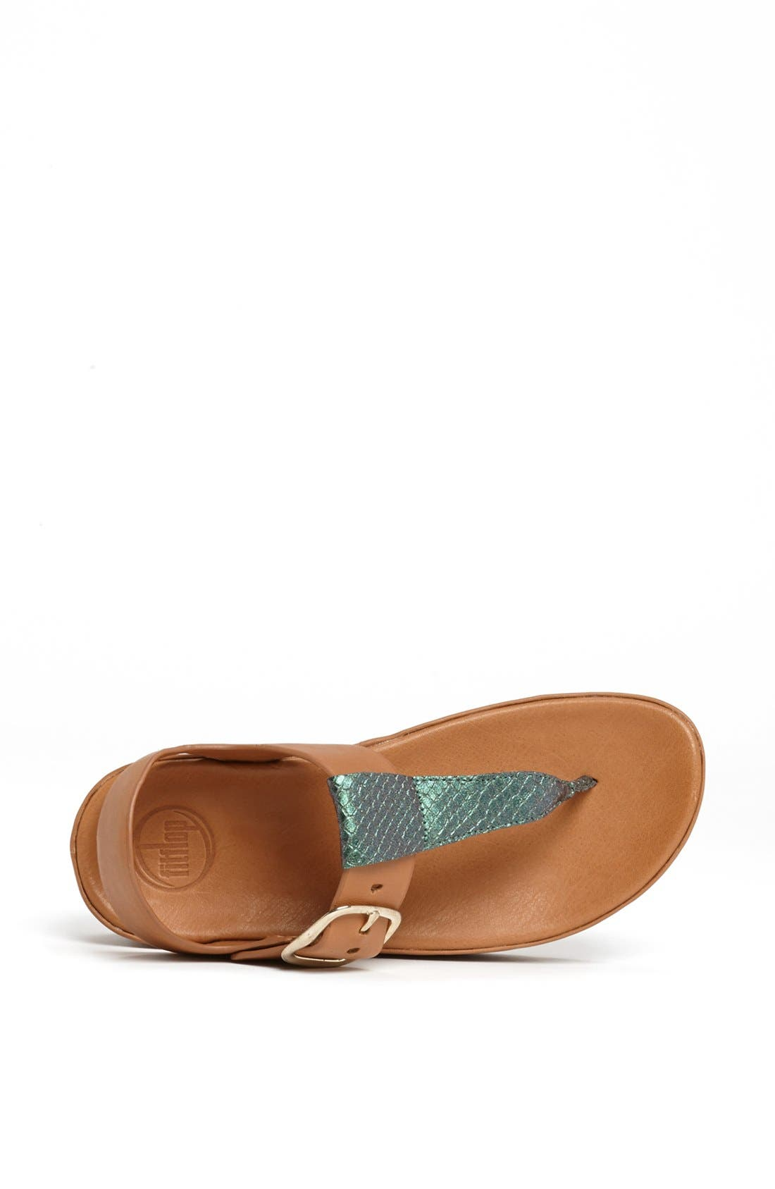 Alternate Image 3  - FitFlop 'Tia™' Leather Sandal