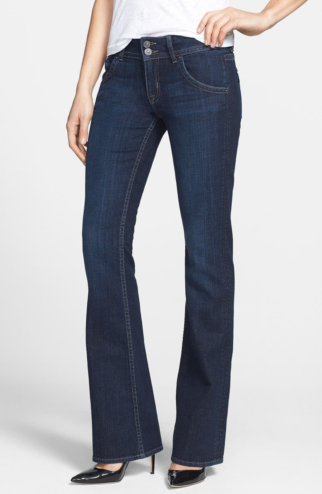 Alternate Image 1 Selected - Hudson Jeans 'Signature' Bootcut Jeans (Charisma)