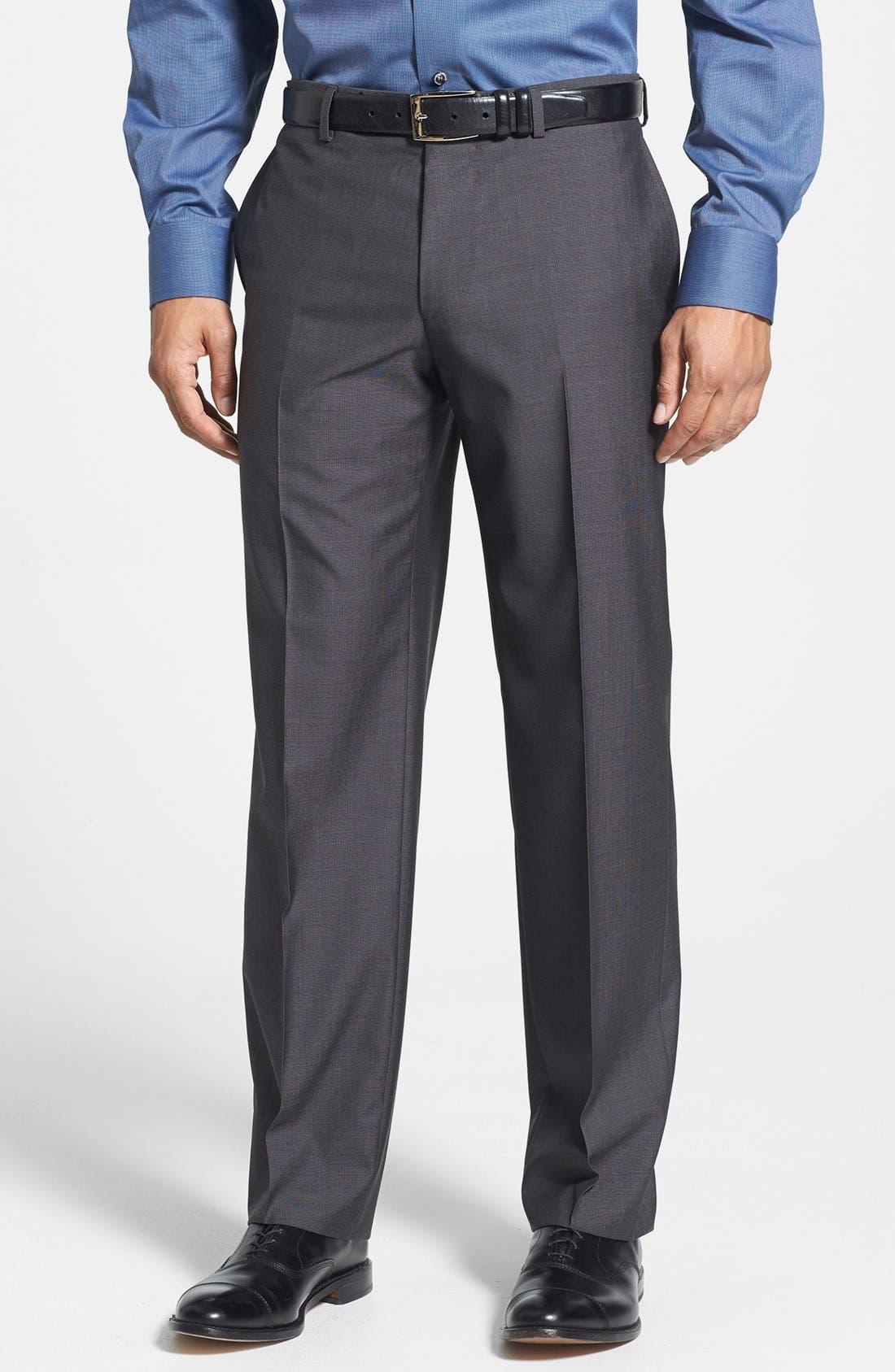 Alternate Image 4  - BOSS HUGO BOSS 'Edison/Power' Classic Fit Wool Blend Suit