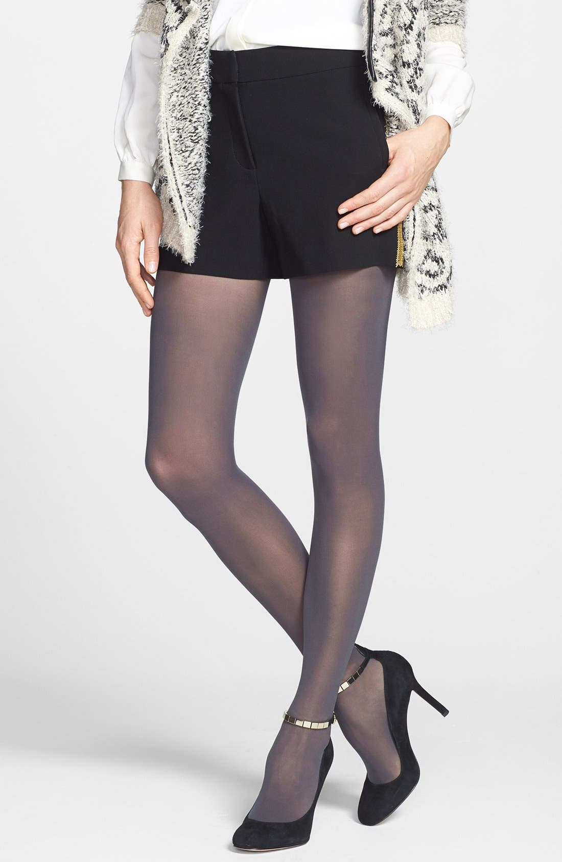 DKNY Light Opaque Control Top Tights (2 for $25)