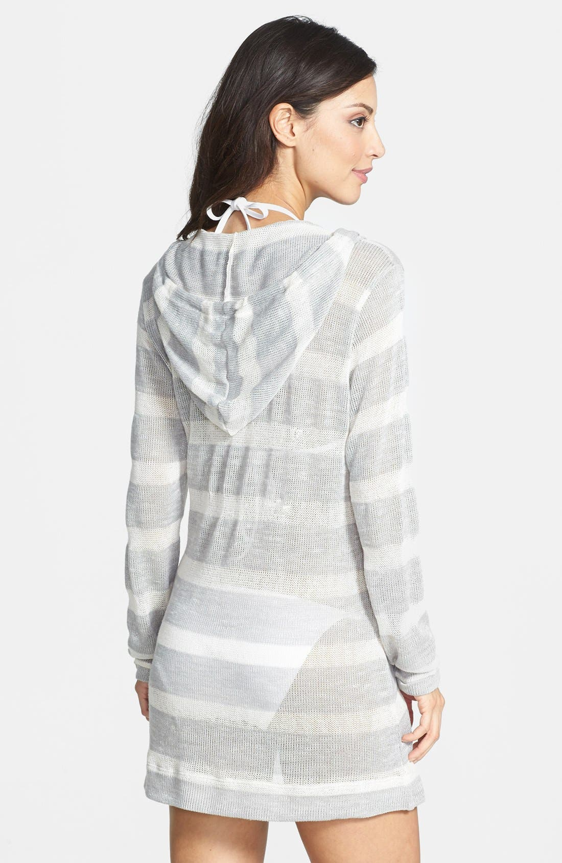 Alternate Image 2  - La Blanca 'Hit the Deck' Hooded Cover-Up Tunic
