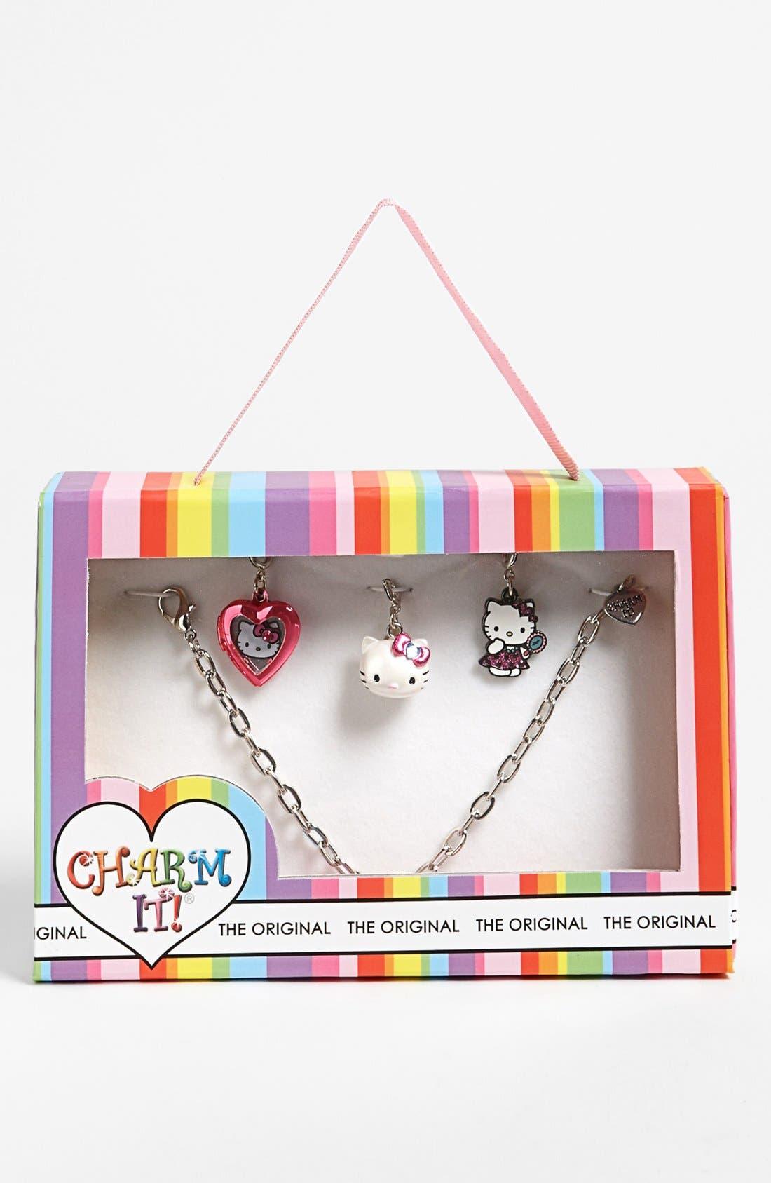 Alternate Image 1 Selected - High Intencity 'Charm It!® - Hello Kitty®' Charm Bracelet