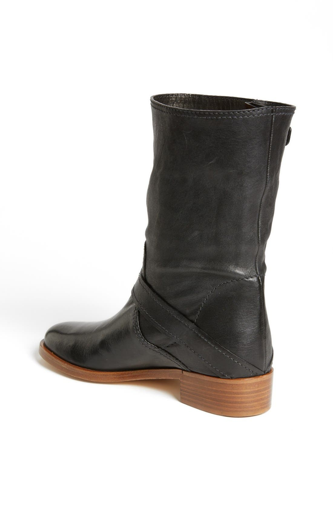 Alternate Image 2  - Miu Miu Double Buckle Short Boot