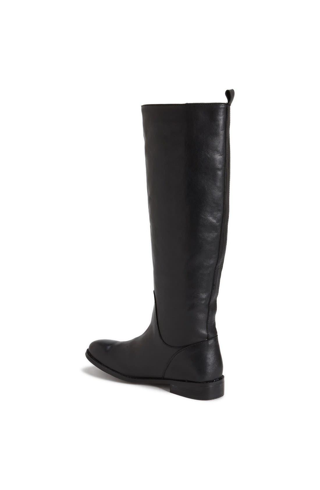 Alternate Image 2  - Topshop 'Dancer' Leather Riding Boot