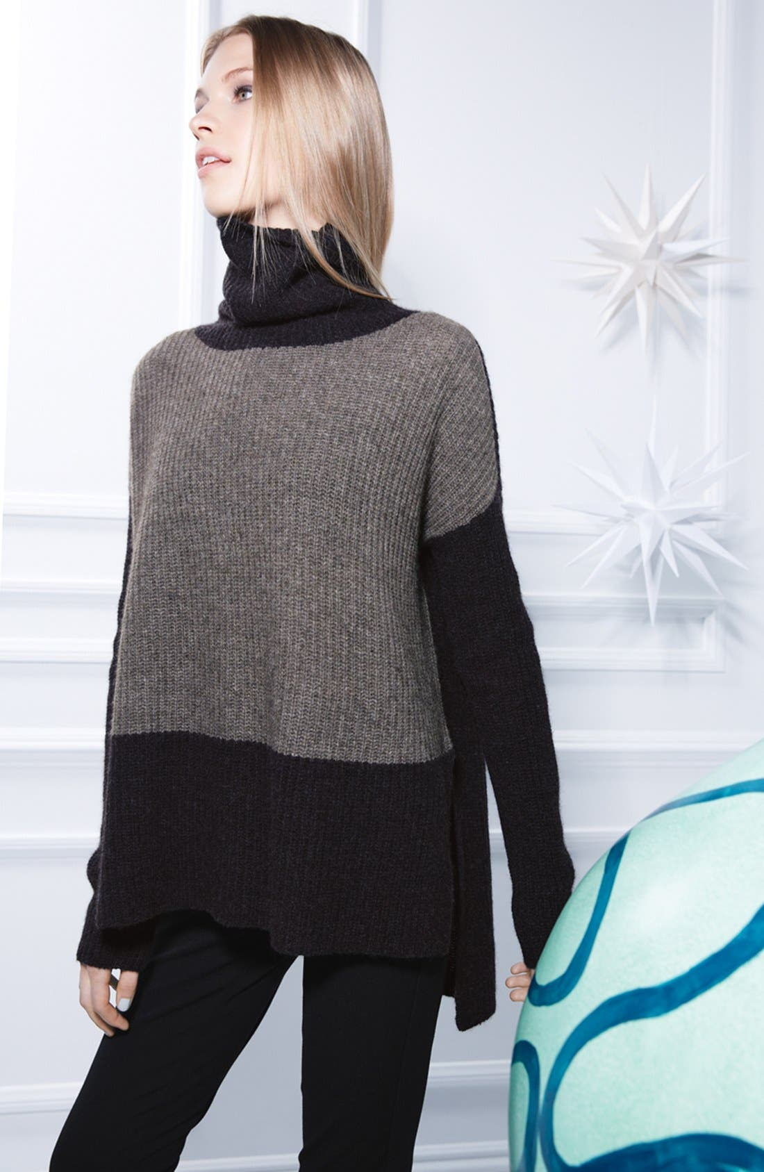 Alternate Image 5  - Eileen Fisher Supersoft Yak Hair & Wool Turtleneck Sweater