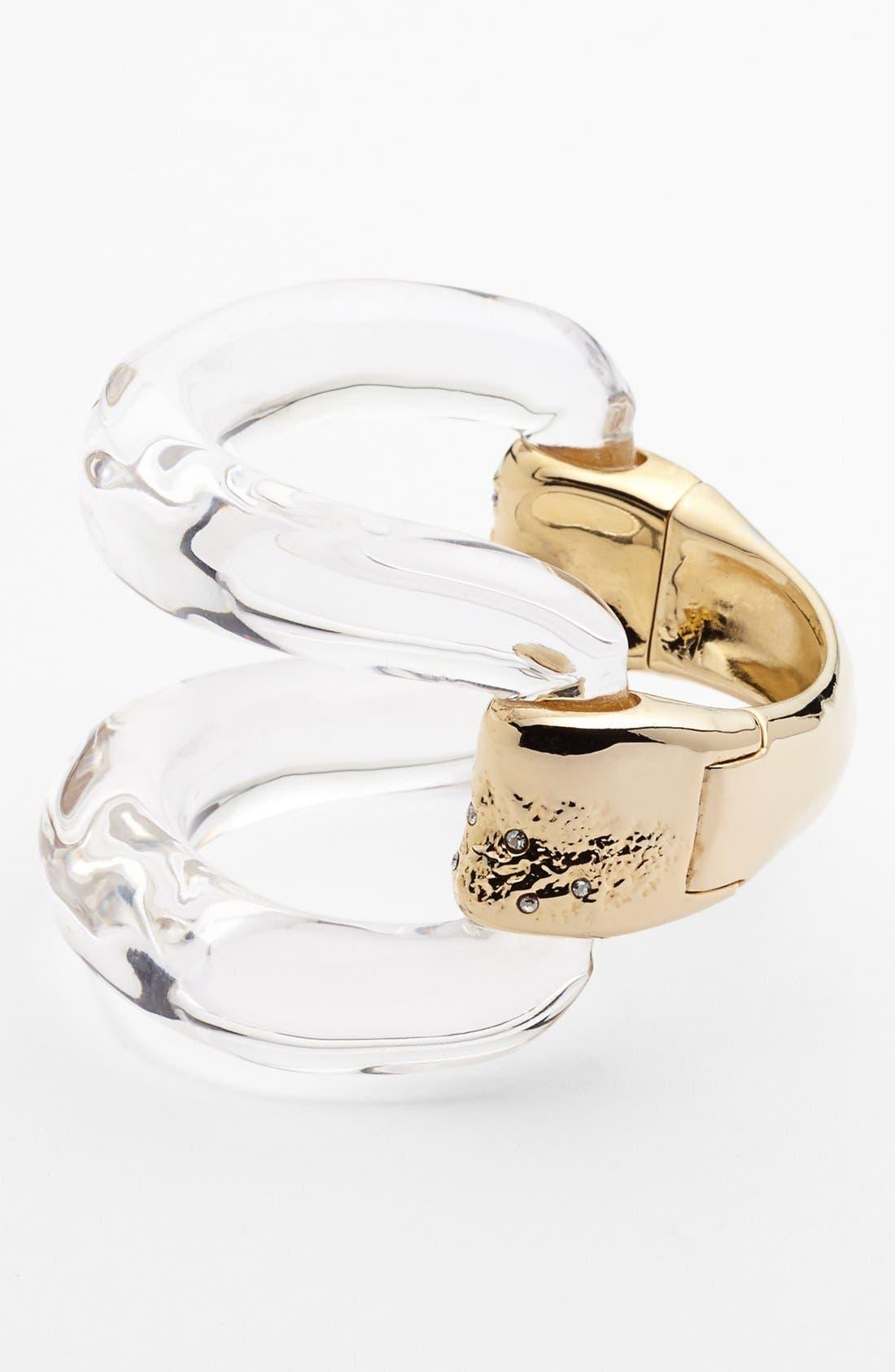 Alternate Image 1 Selected - Alexis Bittar 'Lucite®' Open Statement Bracelet