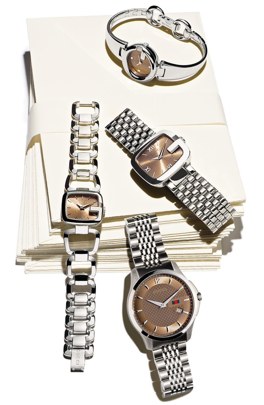 Alternate Image 2  - Gucci 'Guccissima' Bangle Watch, 27mm