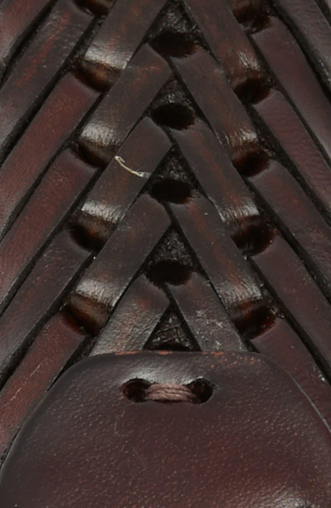 Alternate Image 2  - John W. Nordstrom® Woven Leather Belt