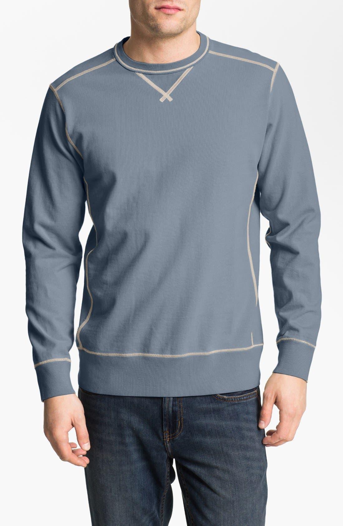 Alternate Image 1 Selected - Tommy Bahama Denim 'Catamaran Crew' Crewneck Sweatshirt