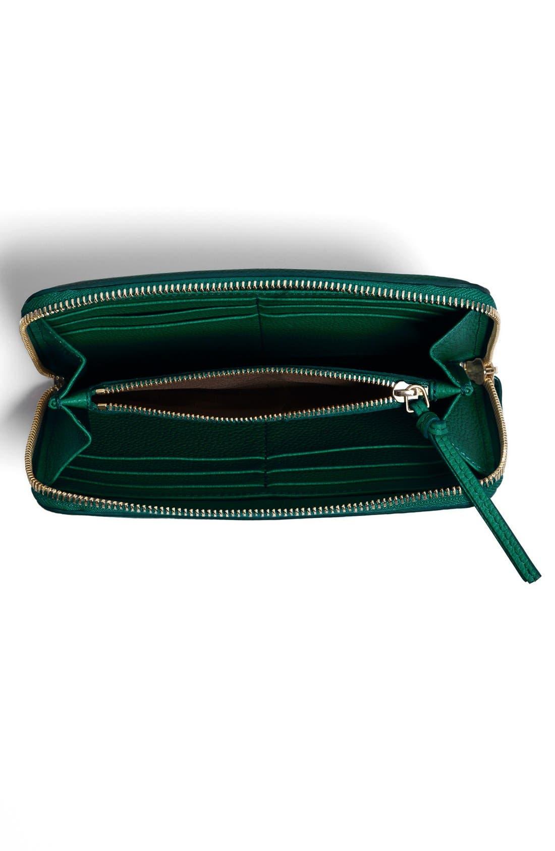 Alternate Image 2  - Chloé 'Paraty' Zip Around Calfskin Leather Wallet
