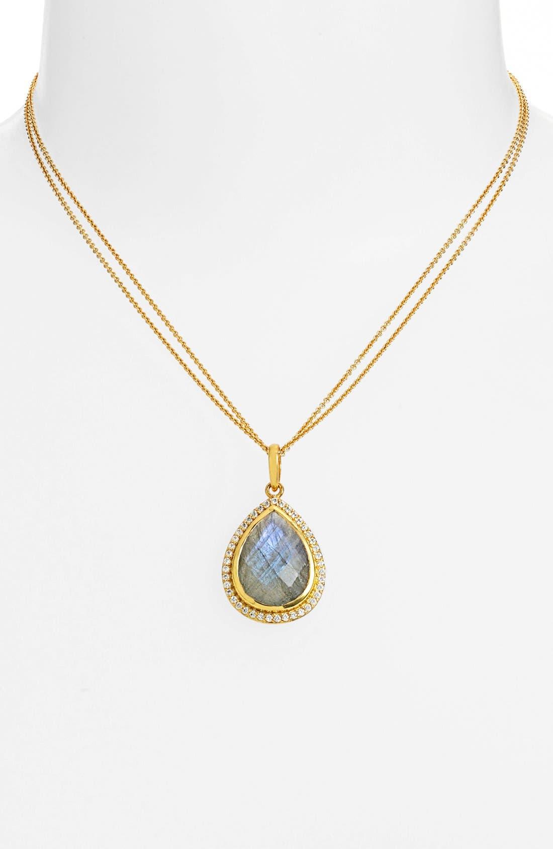 Alternate Image 1 Selected - NuNu Designs Large Pendant Necklace