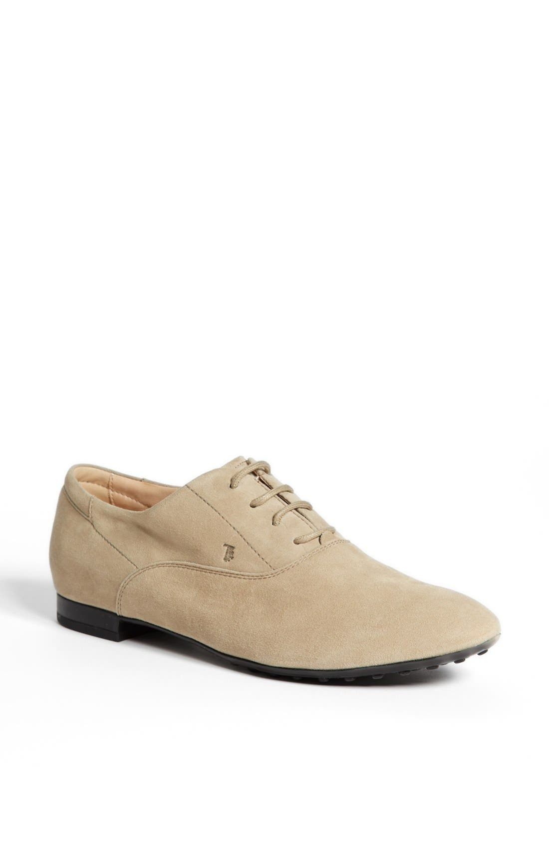 Alternate Image 1 Selected - Tod's Suede Oxford