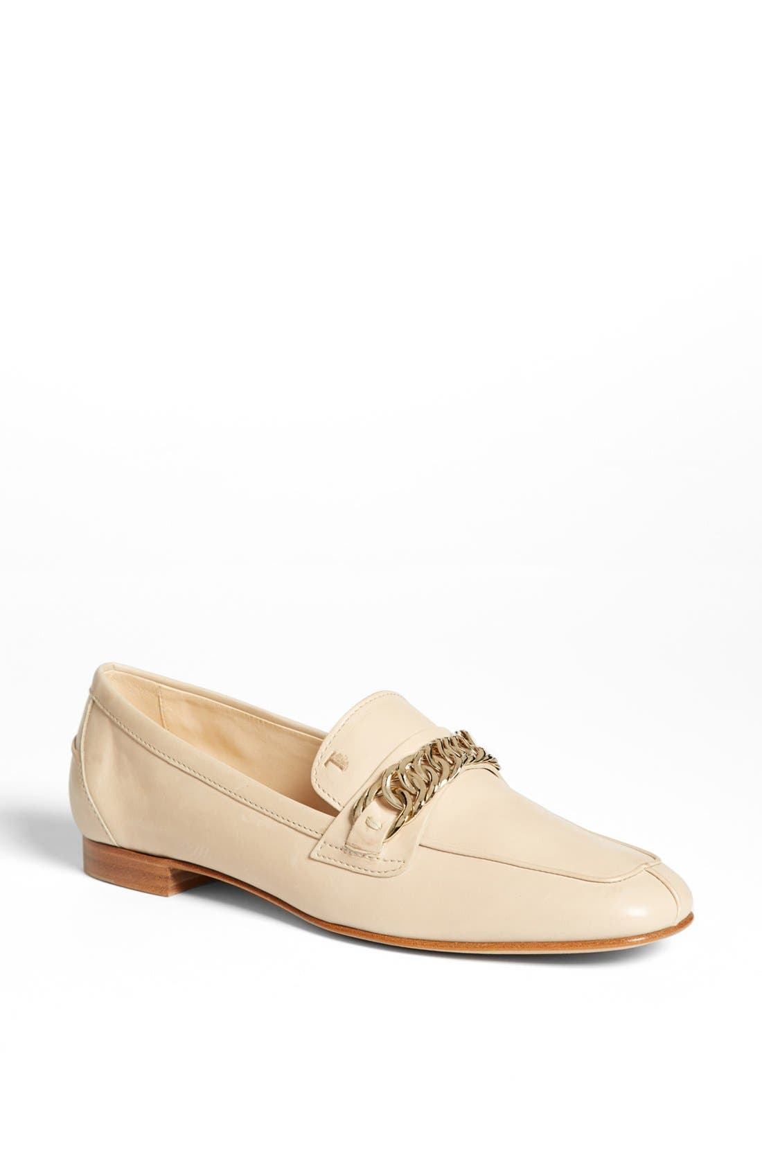 Alternate Image 1 Selected - Tod's Leather Moccasin Loafer