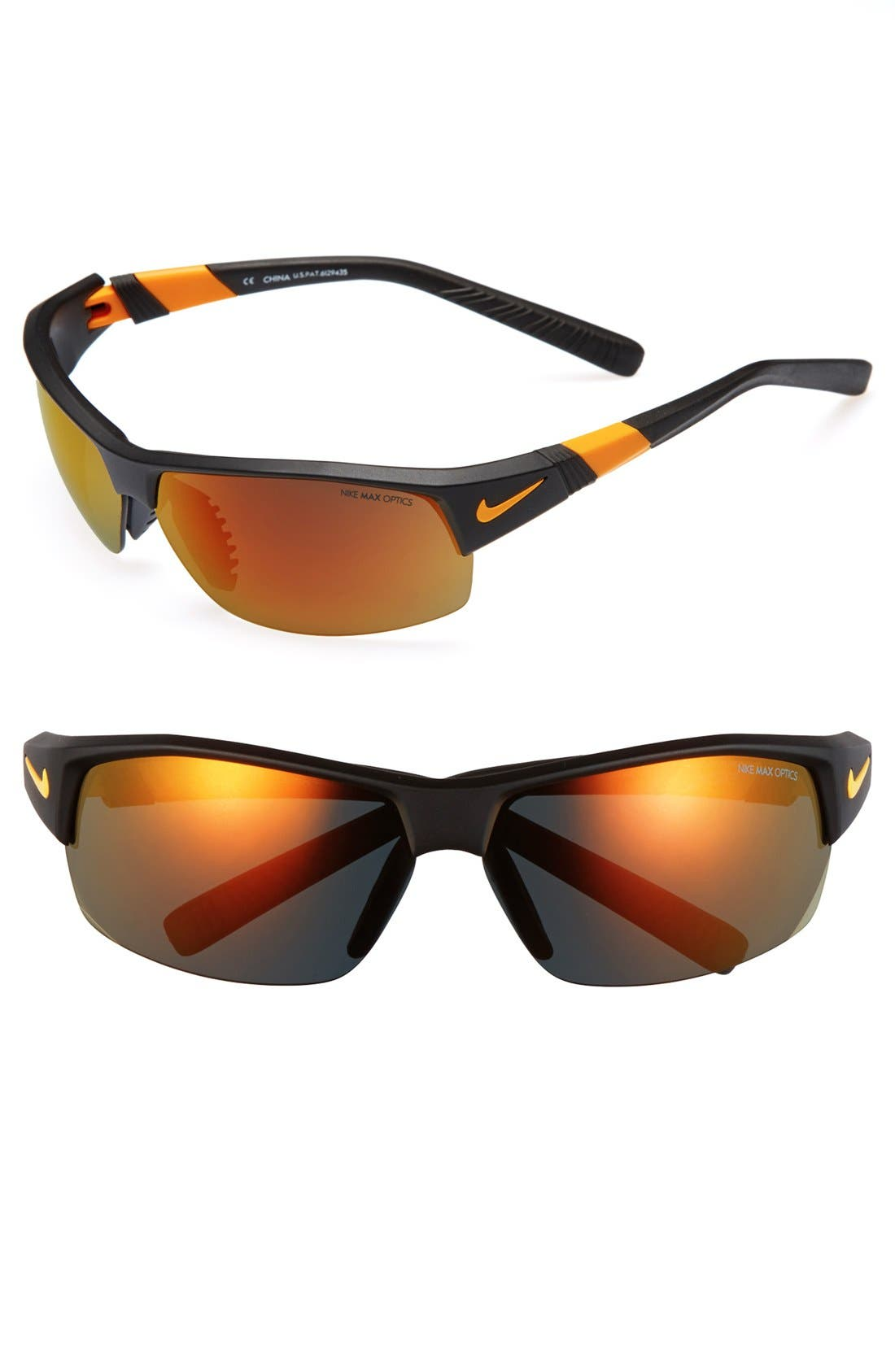Main Image - Nike 69mm Wrap Sunglasses