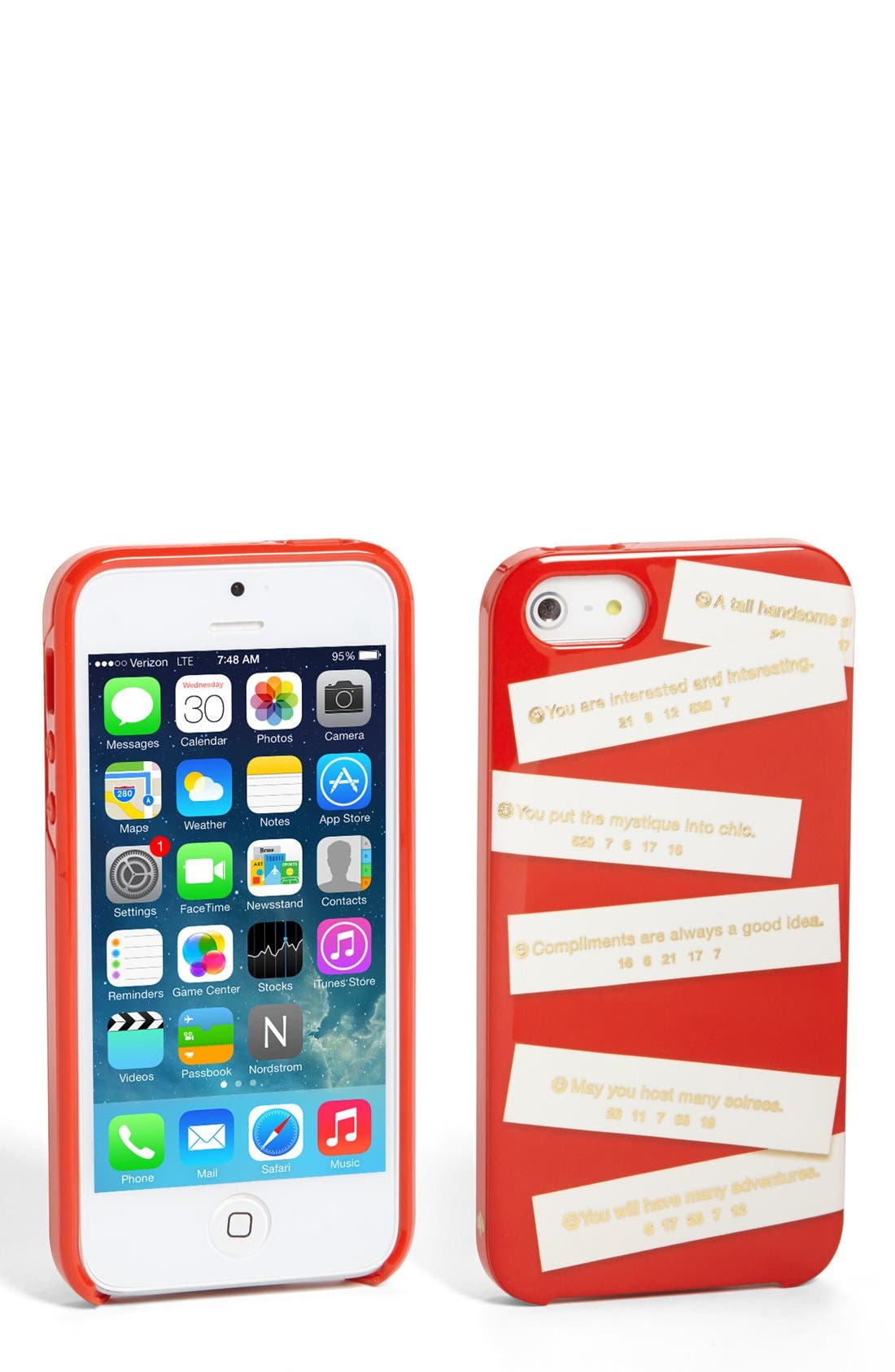 Alternate Image 1 Selected - kate spade new york 'fortunes' iPhone 5 & 5s case