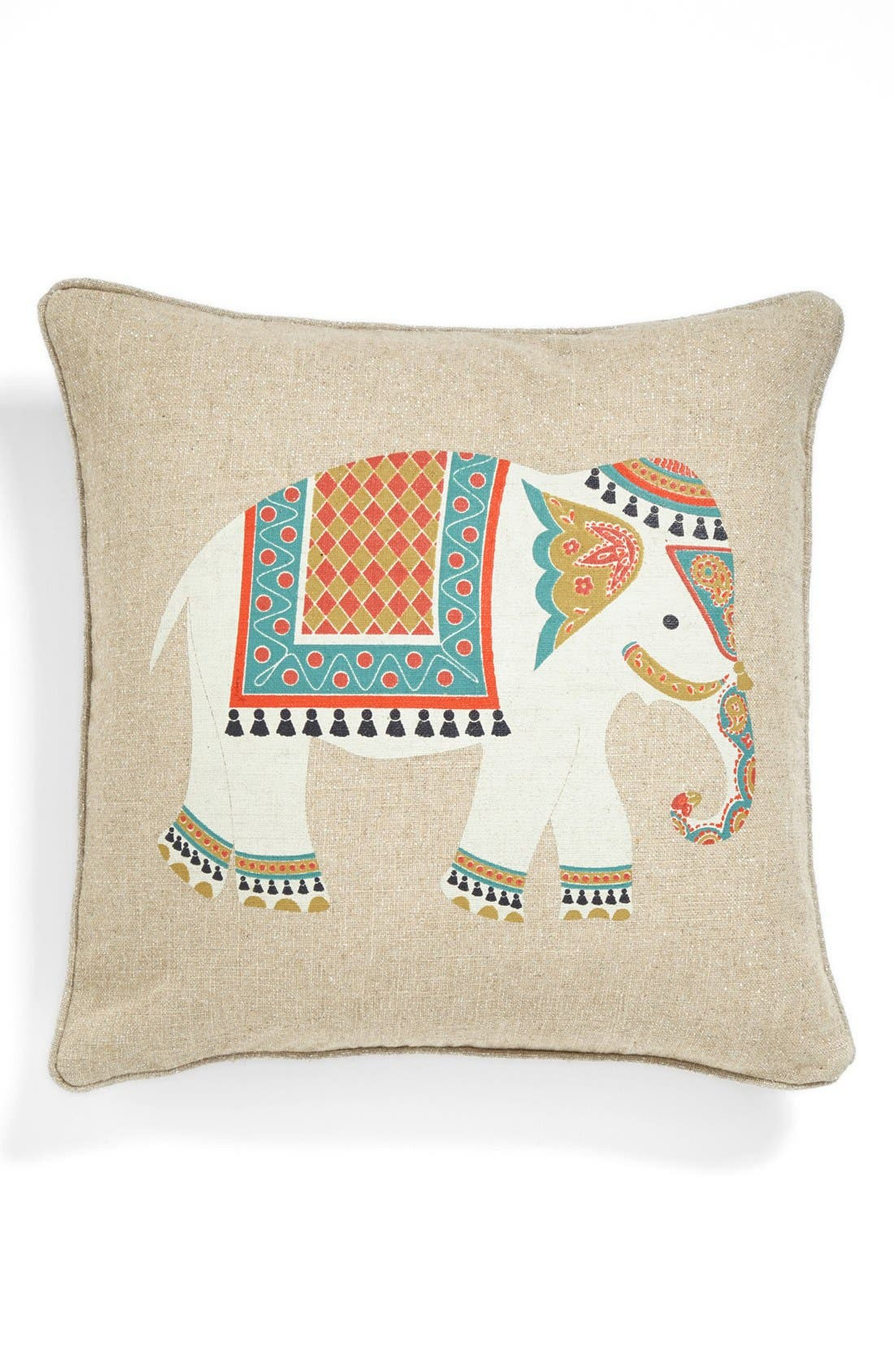 Alternate Image 1 Selected - Levtex 'Niko - Elephant' Pillow