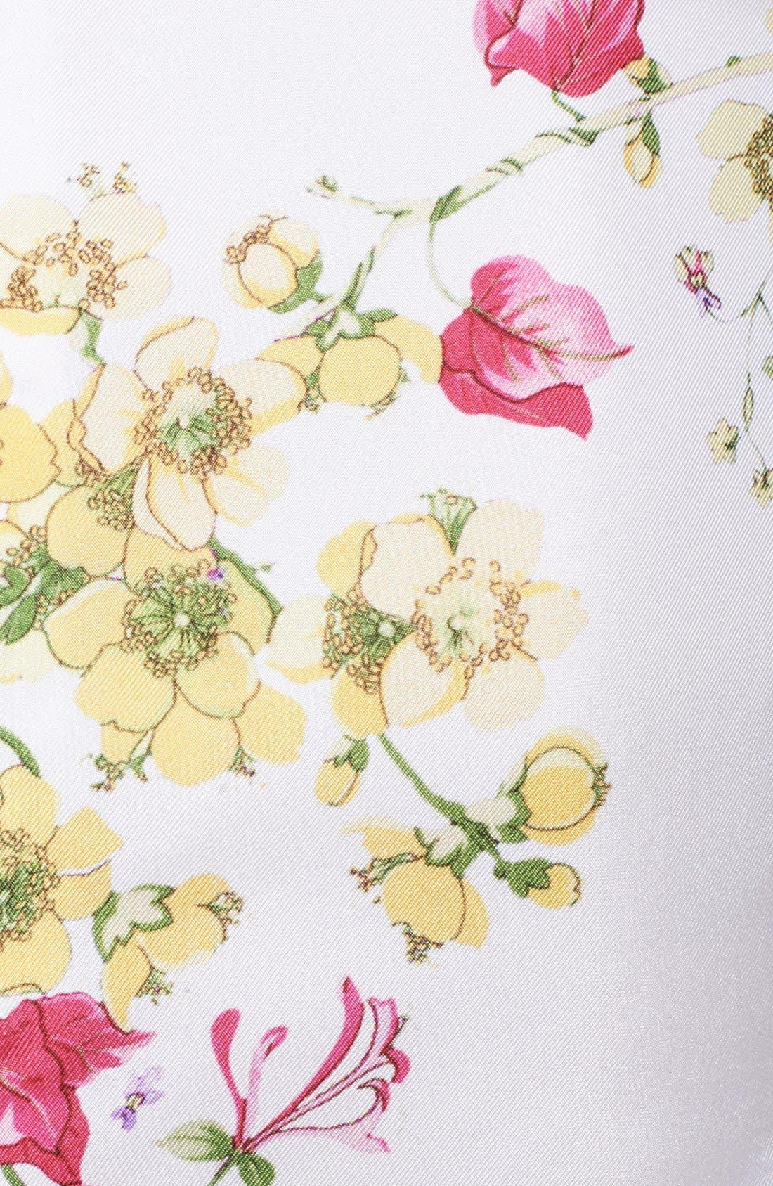 Alternate Image 3  - Nina Ricci Print Bodice Twill Dress