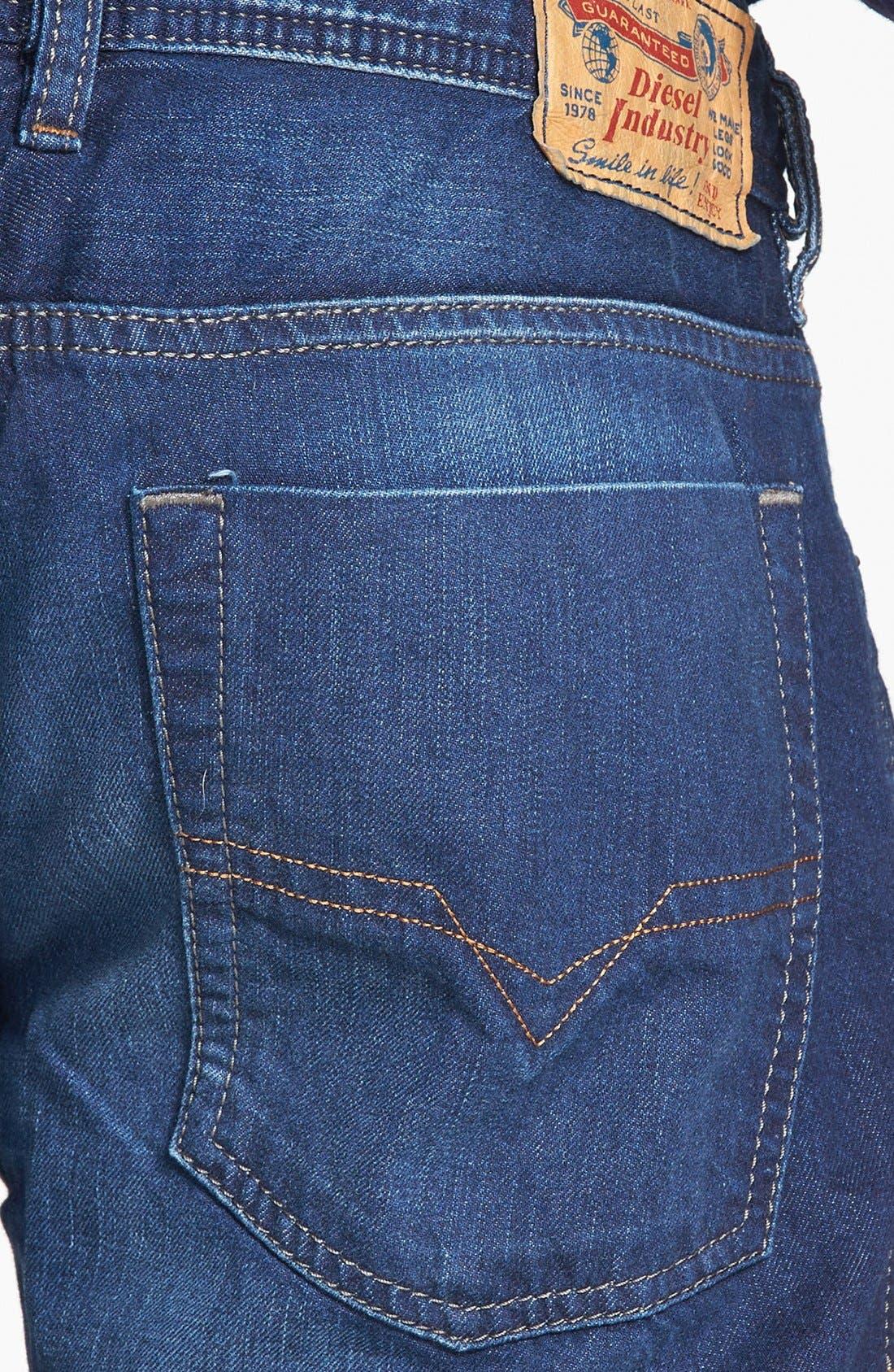 Alternate Image 4  - DIESEL® 'Zatiny' Bootcut Jeans (0818N)