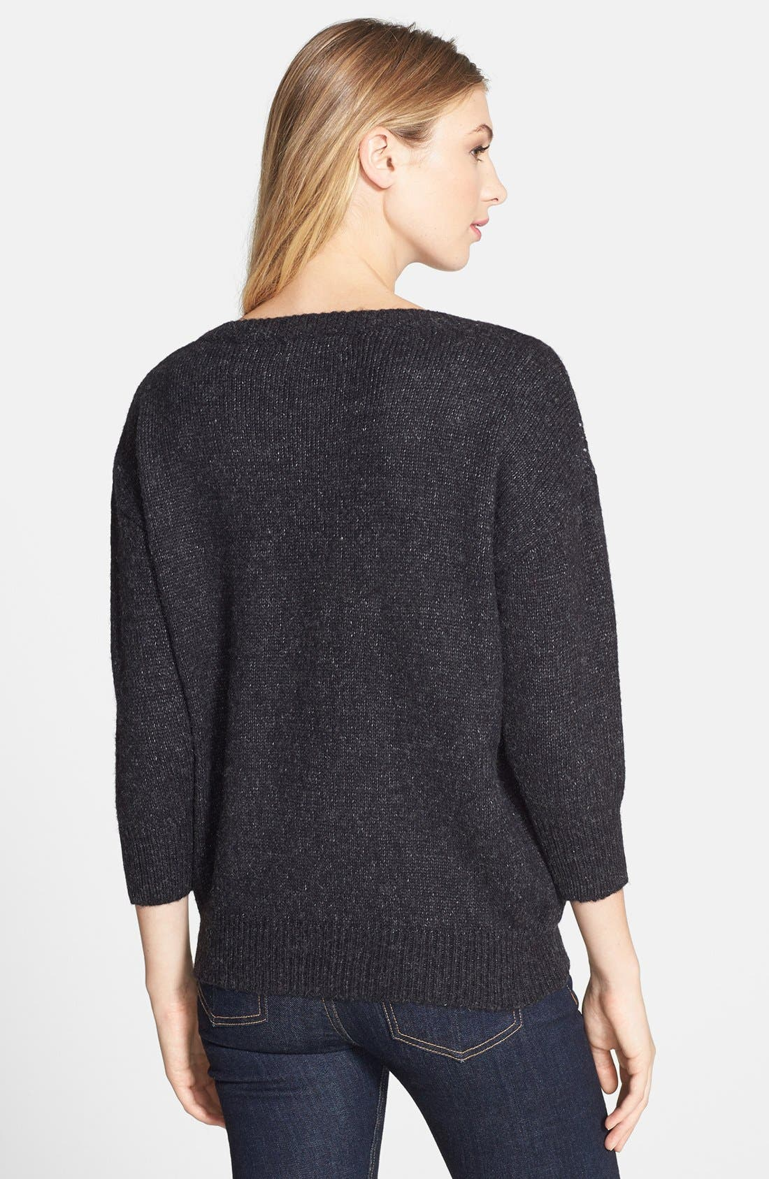 Alternate Image 2  - Press Dot Sequin Sweater