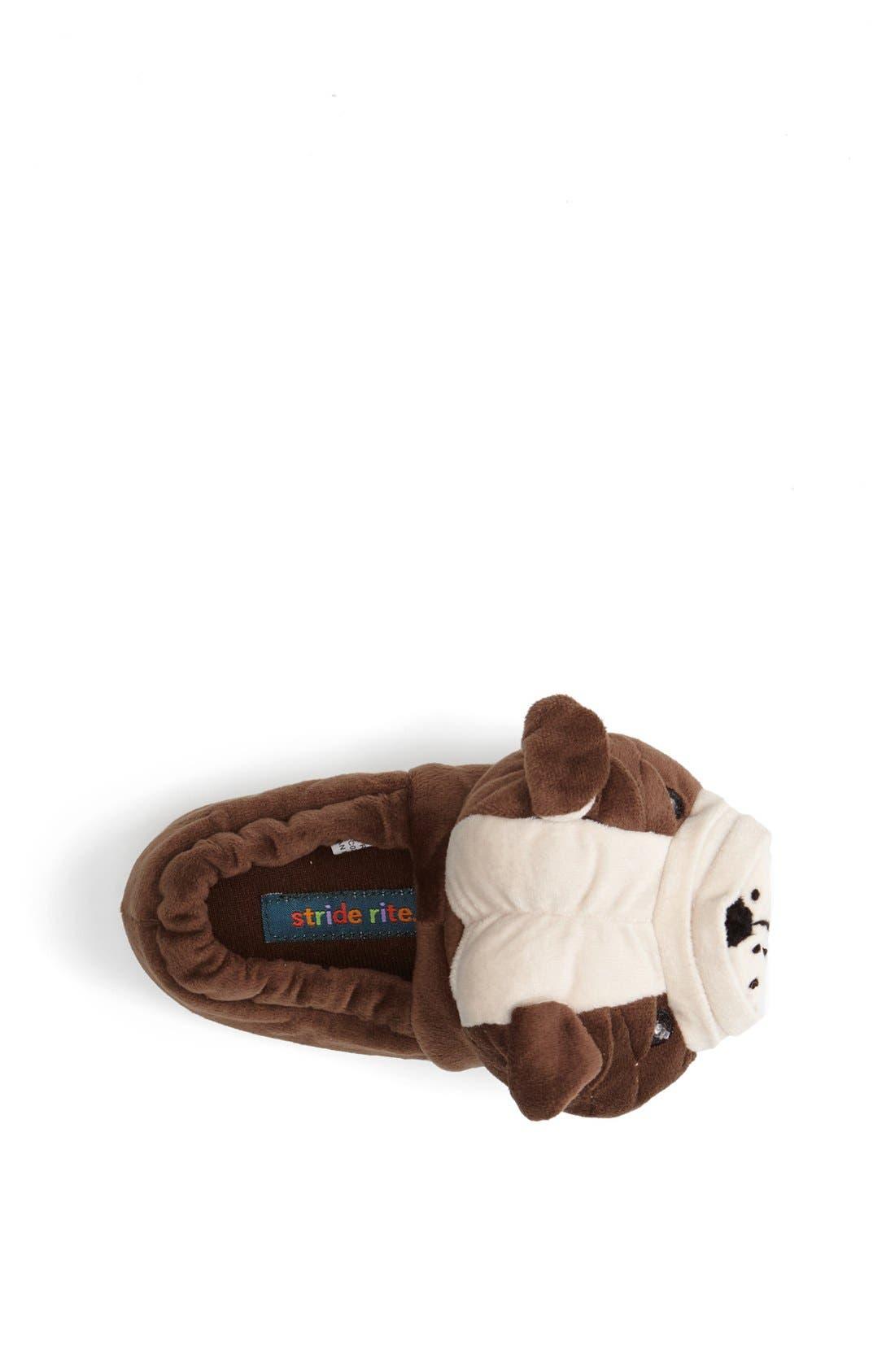 Alternate Image 3  - Stride Rite 'Curtis the Bulldog' Light Up Slippers (Toddler & Little Kid)