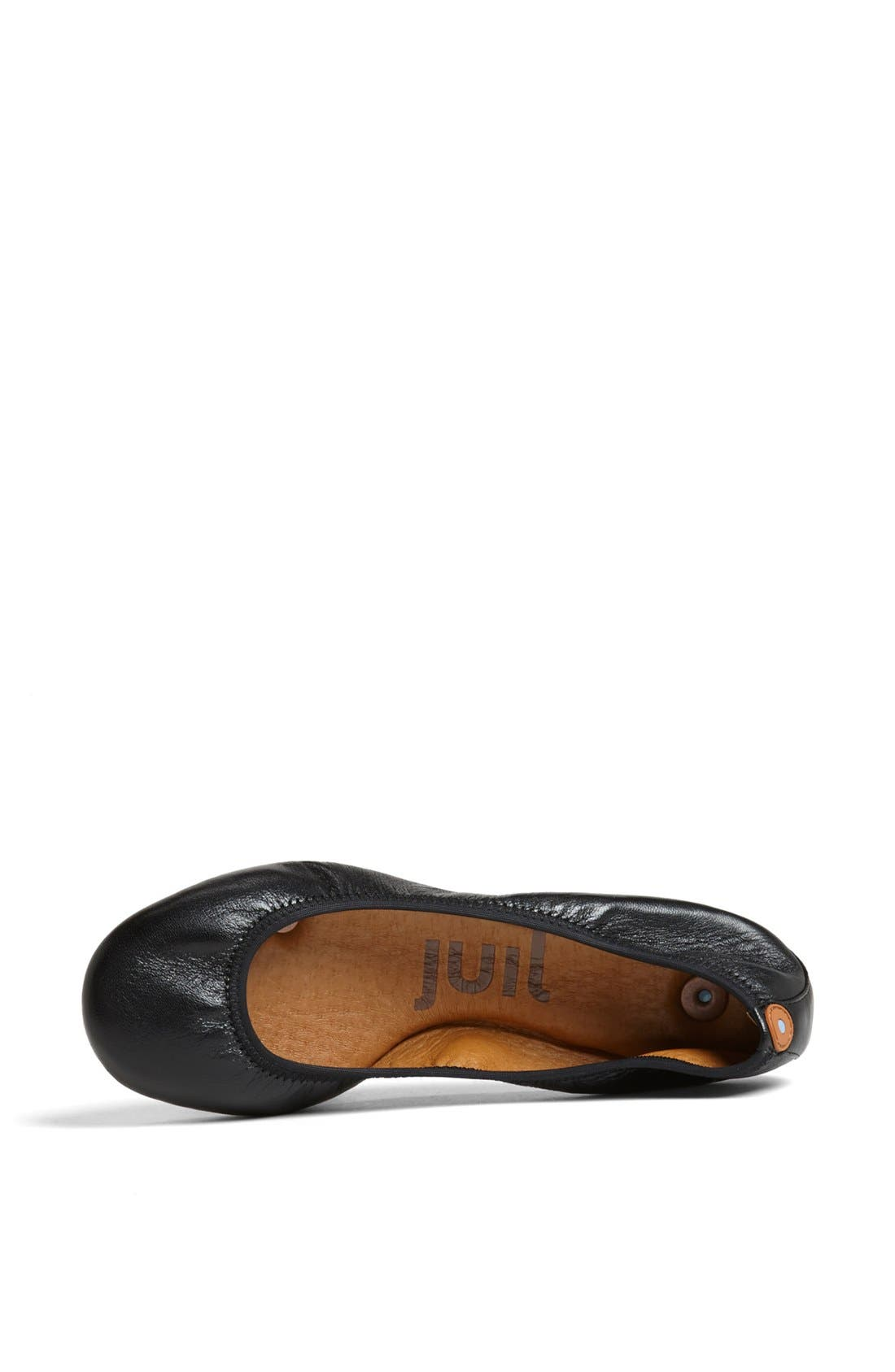 Alternate Image 3  - Juil 'The Flat' Earthing Leather Ballet Flat
