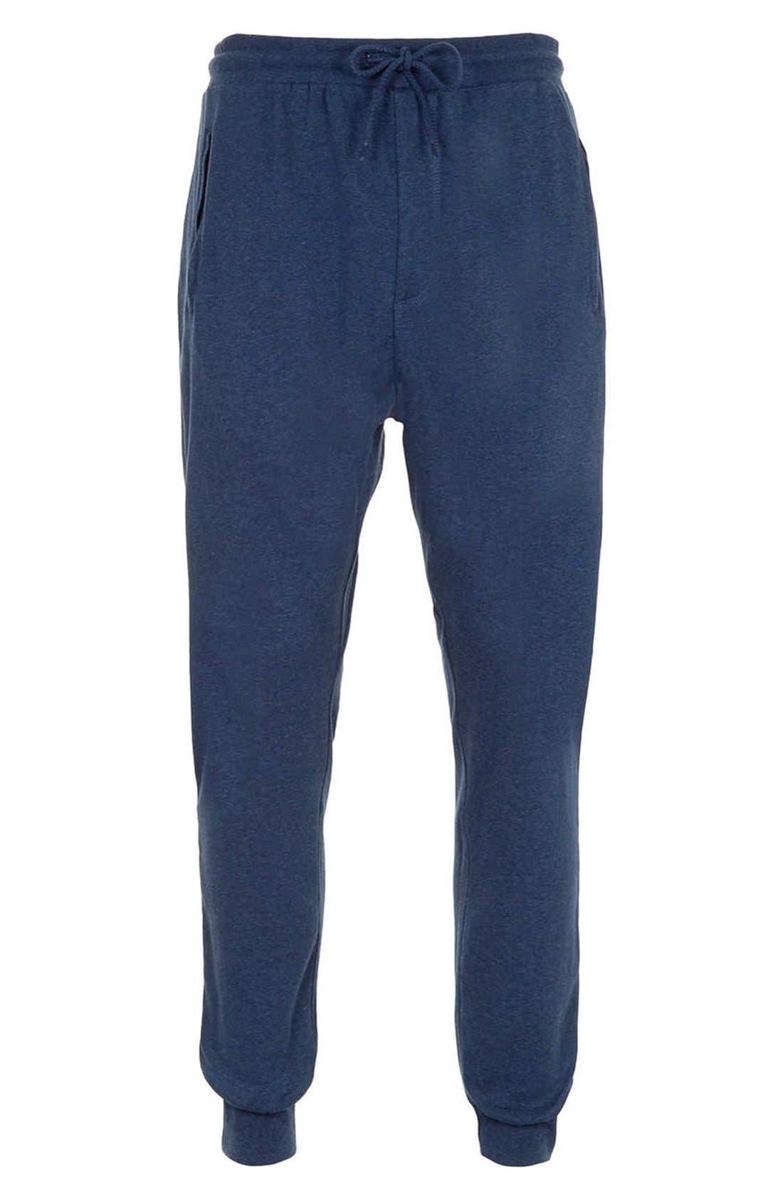 Main Image - Topman Marled Jogger Sweatpants